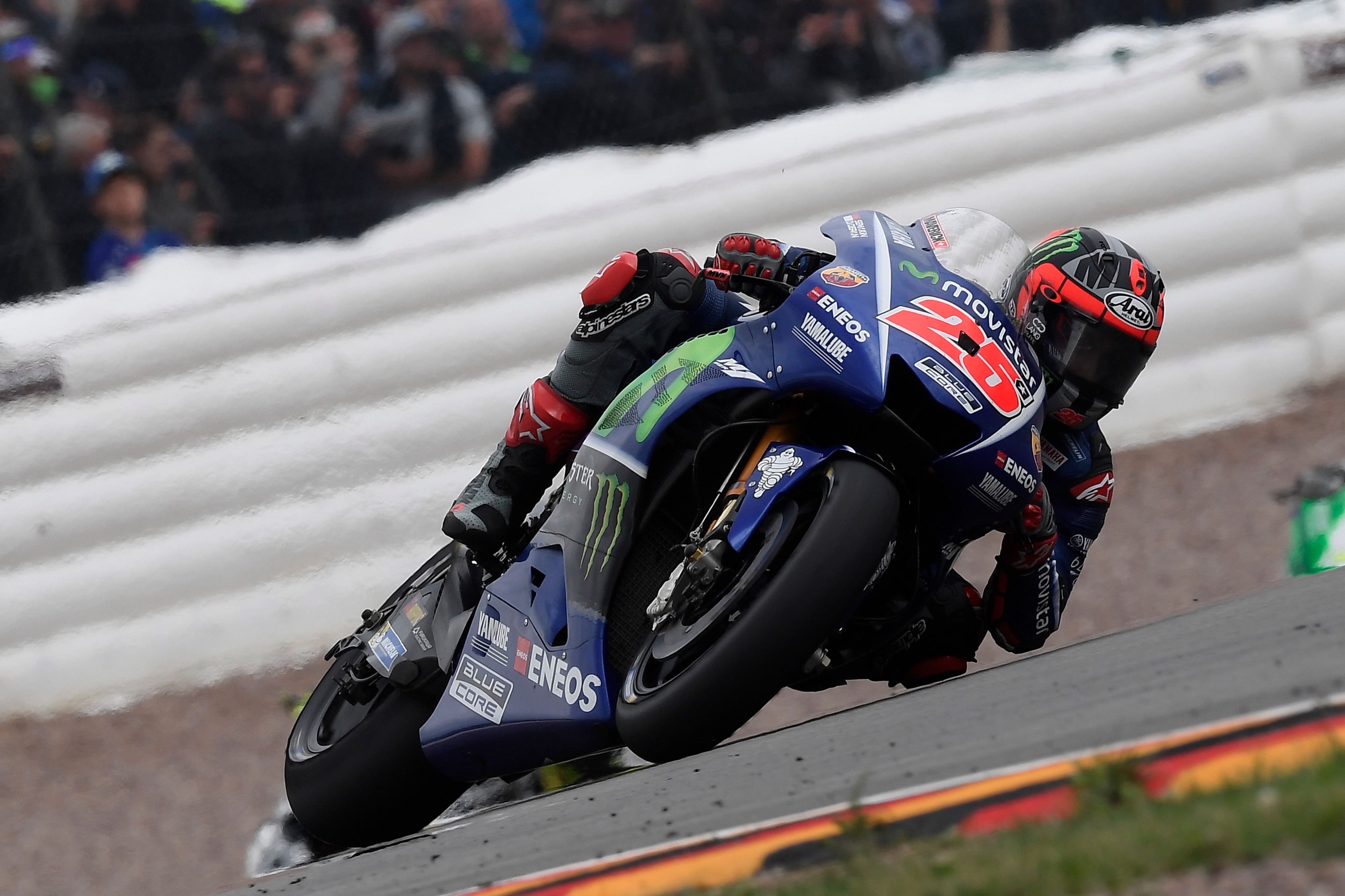 Movistar Yamaha Speed to Fourth and Fifth in Sachsenring Race - Yamaha Racing