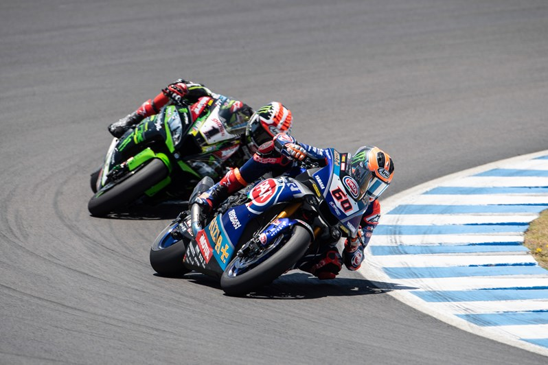 Pata Yamaha's Van Der Mark Storms to Race 2 Victory in Jerez