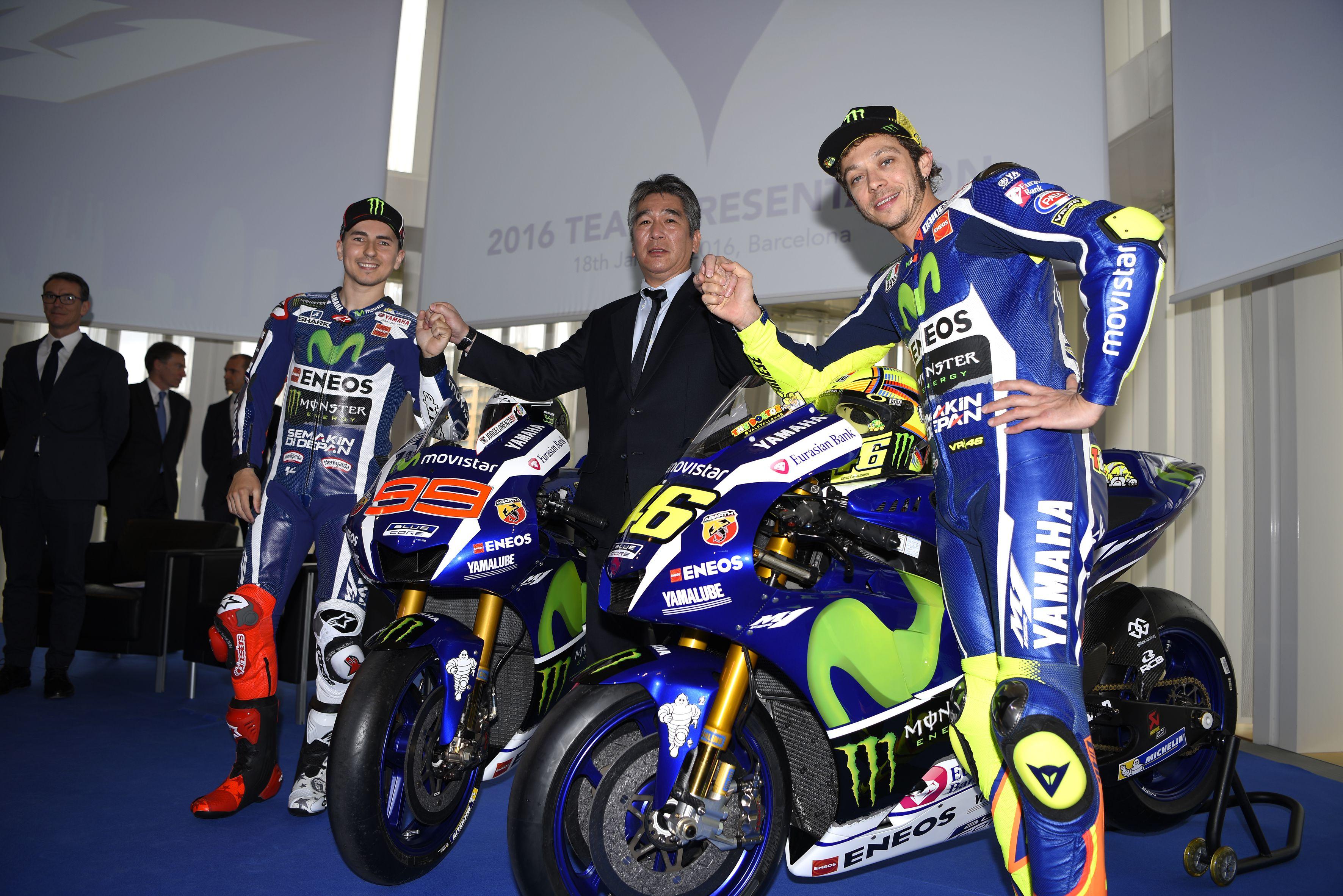 The Movistar Yamaha MotoGP Team Presents 2016 MotoGP Season Line Up in Barcelona - Yamaha Racing