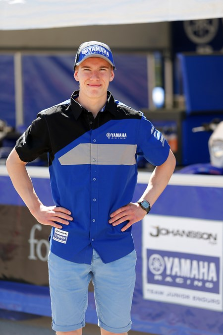 Erik Appelqvist - Johansson Yamaha Official Junior Enduro Team