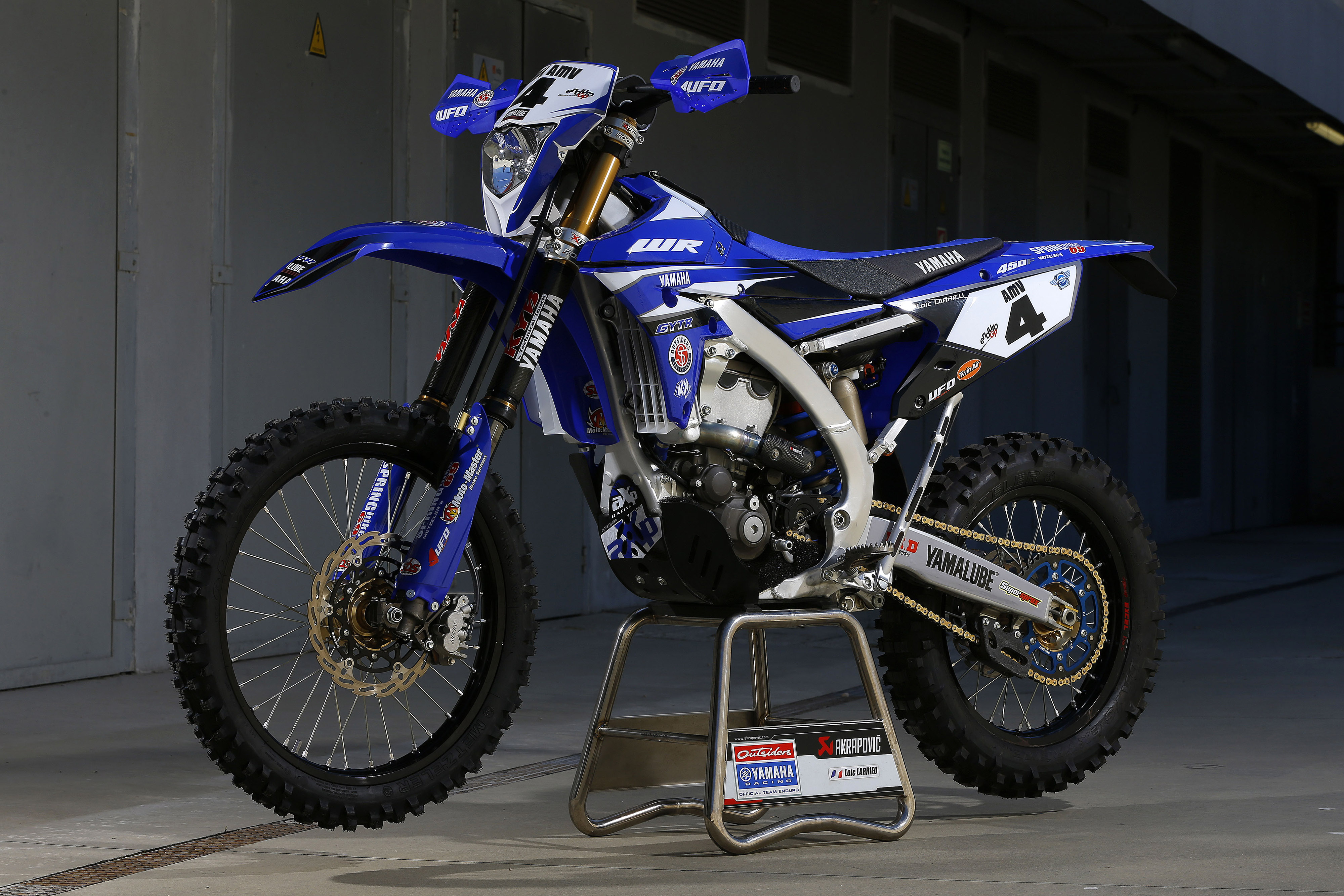bike in detail yamaha wr450f totalmotorcycle. Black Bedroom Furniture Sets. Home Design Ideas